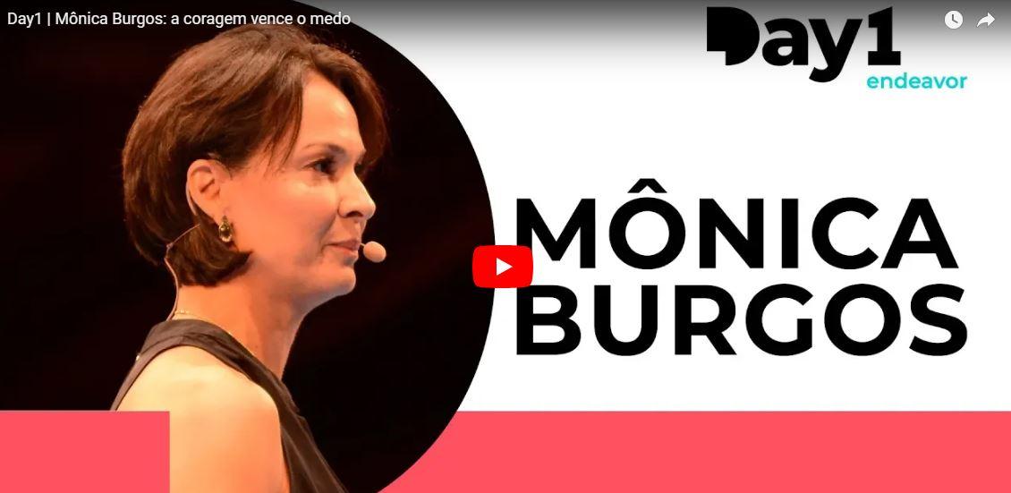 """Mônica Burgos: """"quando você entende o que é importante, a coragem vence o medo"""""""