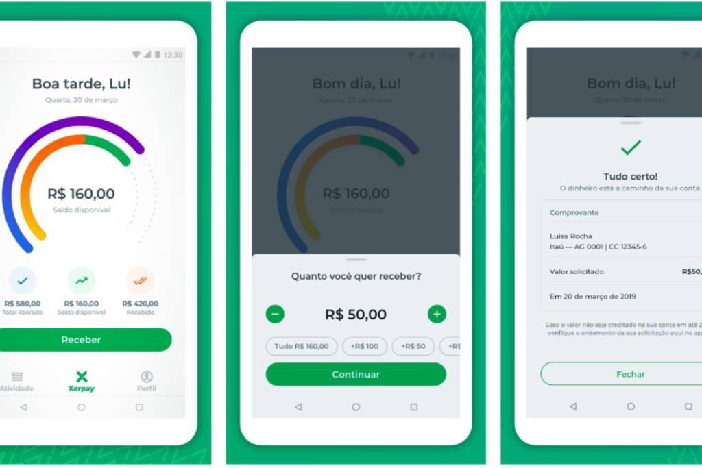 App que permite sacar salário quando quiser atende centenas de empresas